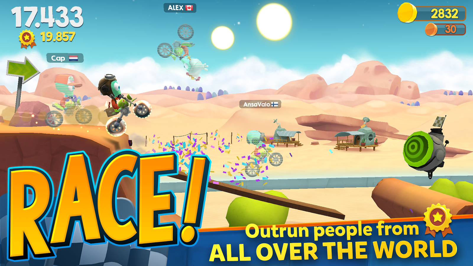 Big Bang Racing Screenshot 1