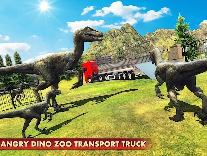 Descargar Angry Dino Zoo Transport Truck 1.2 APK