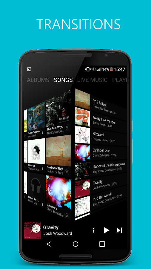 Pixel+ Music Player Screenshot 4