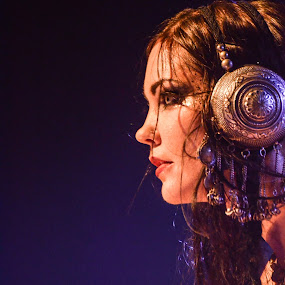 Beats Antique: Zoe Jakes by Kate Anthony - People Musicians & Entertainers ( beats antique, female artist, mask, belly dancer, zoe jakes, musician, dancer, music photography )
