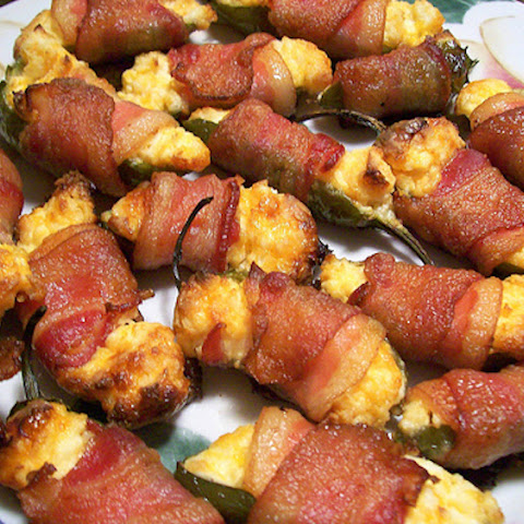 Stuffed Jalapeños With Bacon