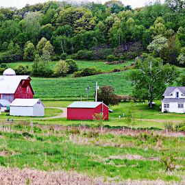 taylor farm by Jon Radtke - Landscapes Prairies, Meadows & Fields ( taylor farm )