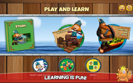 Vic the Viking: Play and Learn