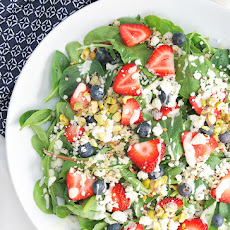 Red, White, & Blueberry Salad