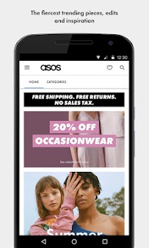 ASOS APK screenshot thumbnail 1