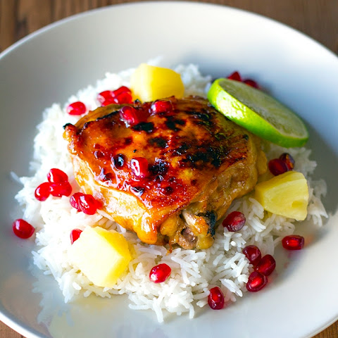 Pomegranate Pineapple Chicken