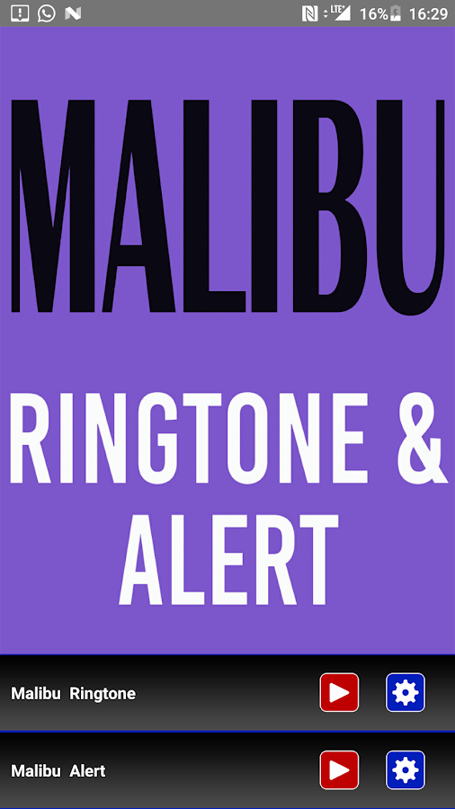 Malibu Ringtone android apps download