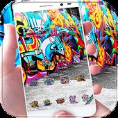 Street Graffiti Theme wall art APK for Ubuntu