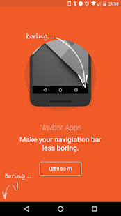 Navbar Apps Screenshot