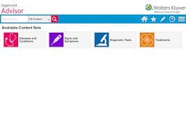 Screenshot of Lippincott Nursing Advisor