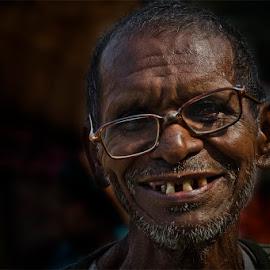 by Gautam Kr Basu - People Portraits of Men