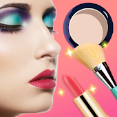 Download Pretty Makeup, Beauty Photo Editor && Snappy Camera APK on PC