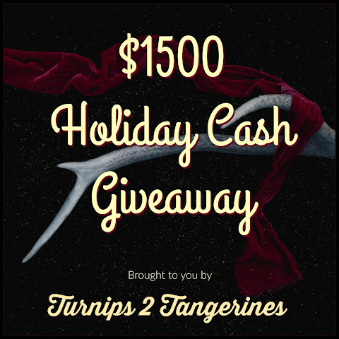 Holiday Cash Giveaway and Simple Syrup