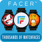 Facer文字盤Android Wear