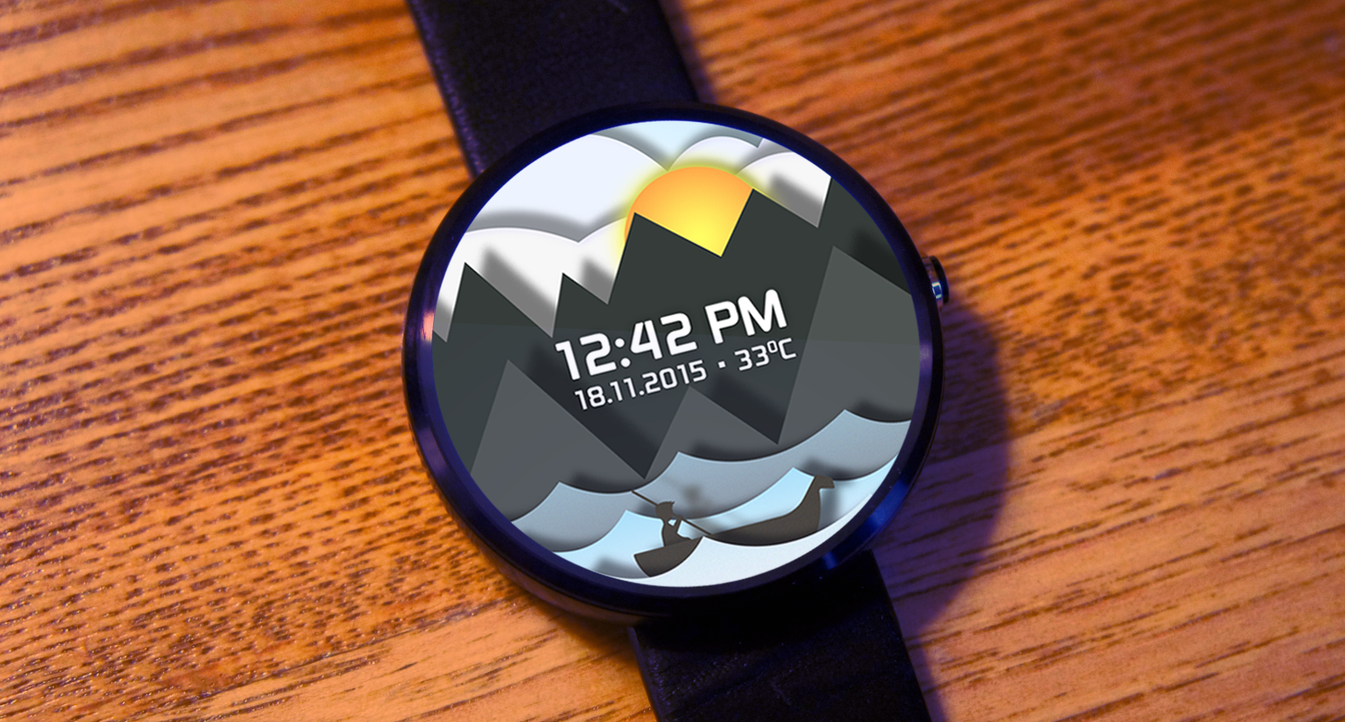 Time Sailor Animated Watchface Screenshot 1