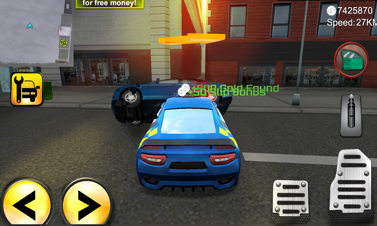 Police Agent vs Mafia Driver Screenshot 1