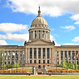 Oklahoma City Capital Building by Jerry Ehlers - Buildings & Architecture Public & Historical ( oklahoma city, oklahoma, capital building )