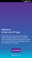 Screenshot of I am OK