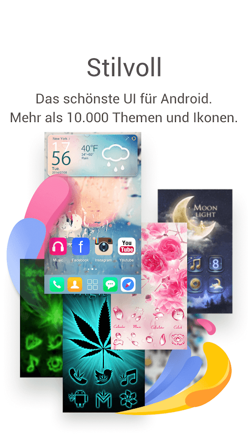 GO Launcher: Thema&Wallpaper – Screenshot