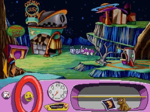 Putt-Putt Goes to the Moon - screenshot