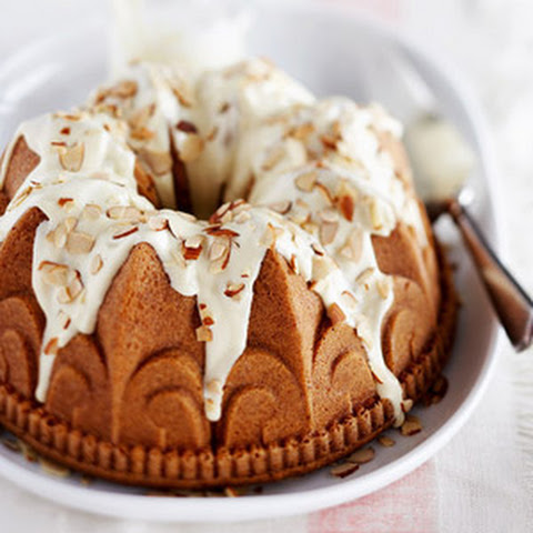 White Chocolate and Almond Pound Cake