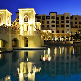 Down town dubai by Syam Alendu Nair - Buildings & Architecture Office Buildings & Hotels
