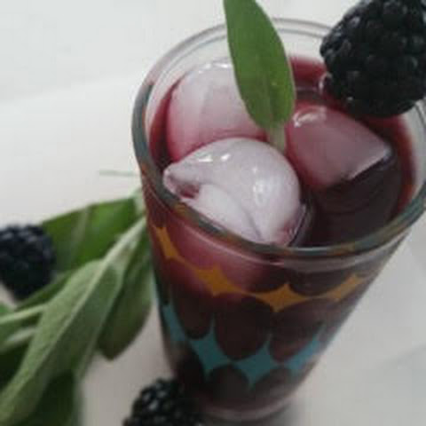 Blackberry-Sage Cocktail