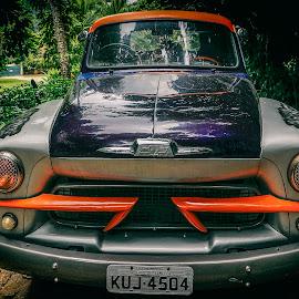 Shevrolet by Zari Dobrichk-off - Transportation Automobiles ( car, old car, rio de janeiro, truck, transportation, shevrolet )