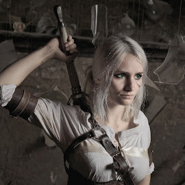 Ciri, The Witcher by Michaela Firešová - People Portraits of Women ( witcher, female, portrait )