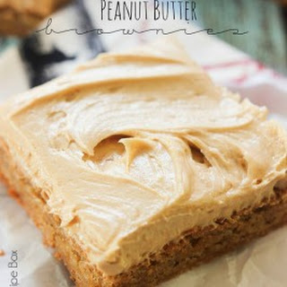 Peanut Butter Brownies Without Chocolate Recipes
