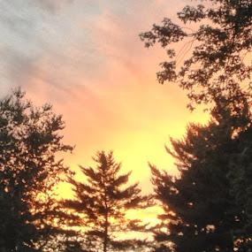 On fire by Zach Church - Landscapes Sunsets & Sunrises