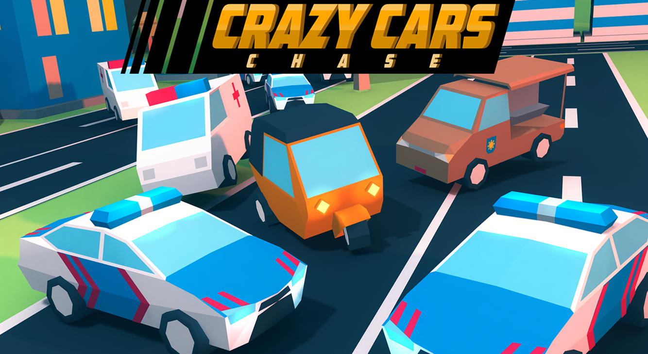 Crazy Cars Chase Screenshot 14