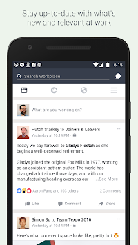 Workplace By Facebook APK screenshot thumbnail 2