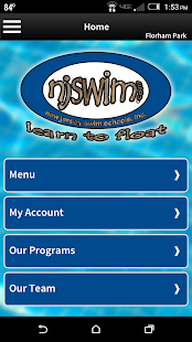 Njswim - screenshot