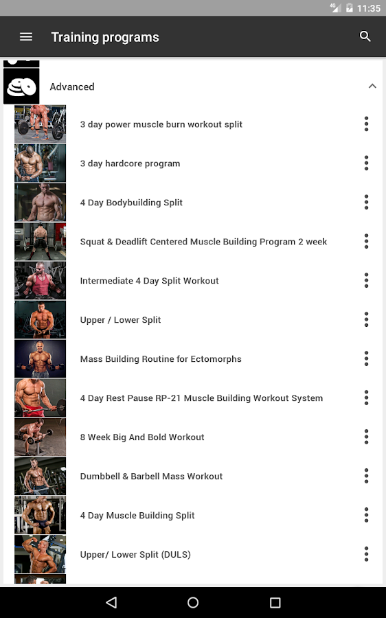 GymApp Pro Workout Log Screenshot 16