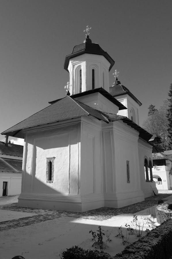 by Agatanghel Alexoaei - Black & White Buildings & Architecture