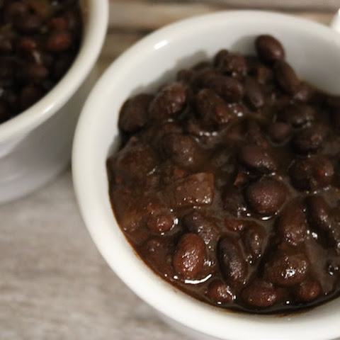Smoky Baked Black Beans