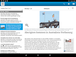 Screenshot of DieSiegener