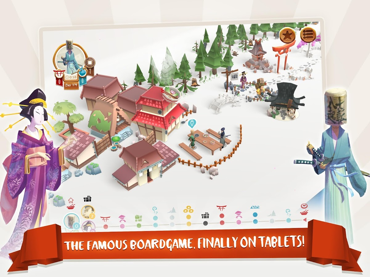 Tokaido: A Fun Strategy Game Screenshot 5
