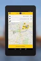 Screenshot of taxi.eu – Taxi App for Europe