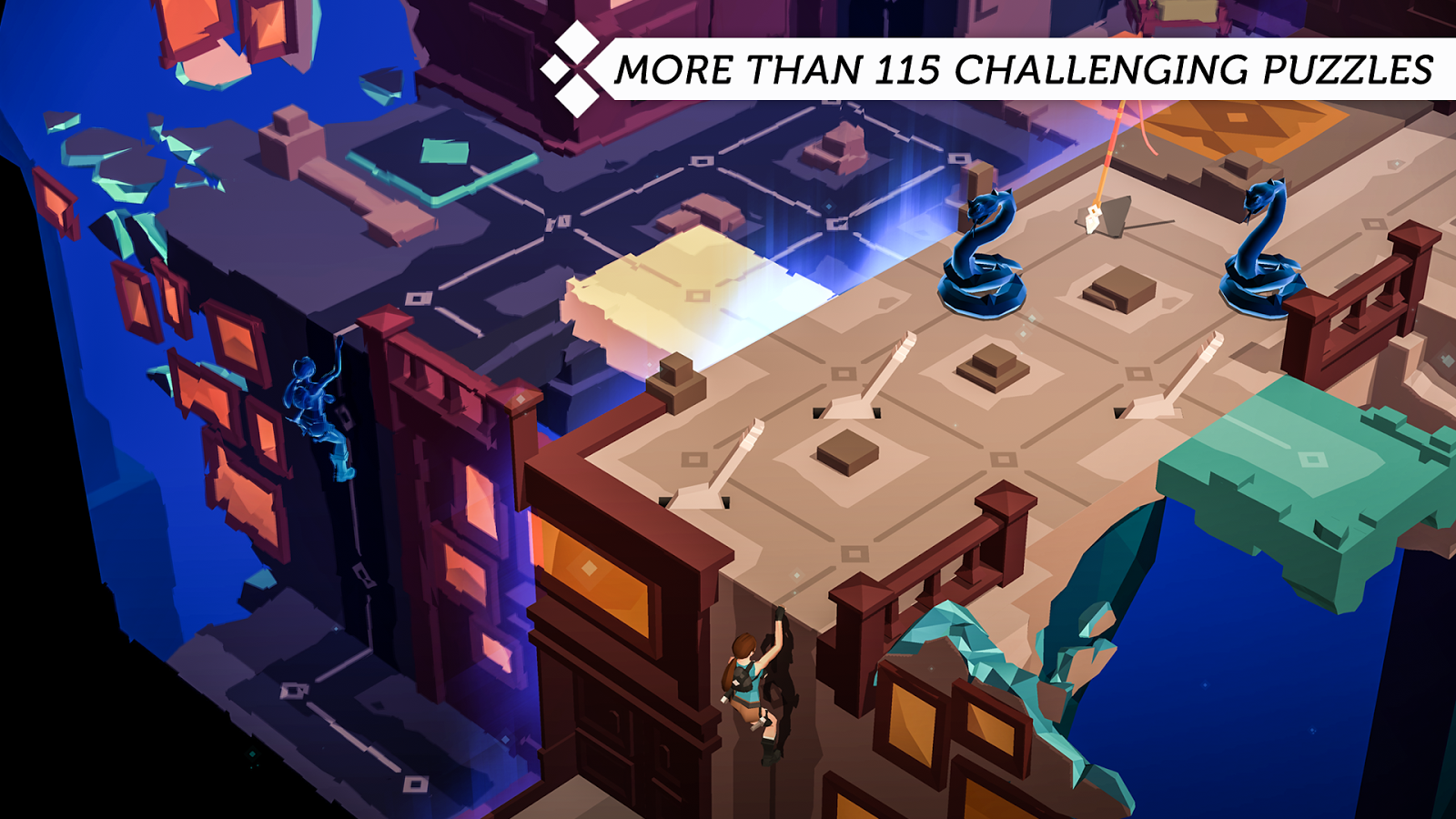 Lara Croft GO Screenshot 0