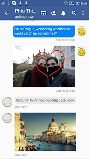 Lite Messenger & video call for Facebook Screenshot