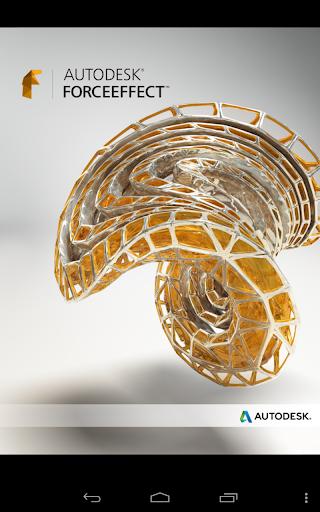 Autodesk ForceEffect screenshot 6