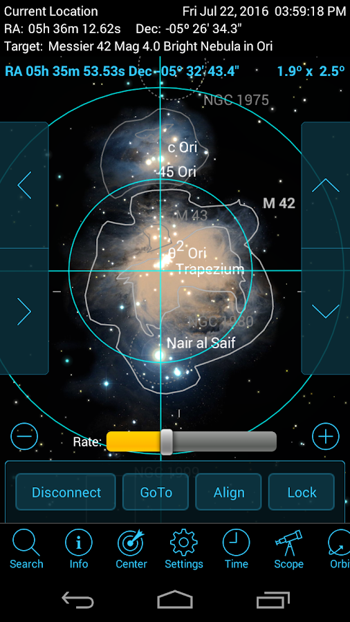 SkySafari 5 Pro Screenshot 1