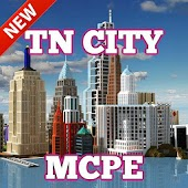 App Hypixel TN city map for MCPE version 2015 APK