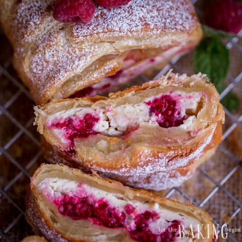 Raspberry Cheesecake Danish