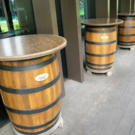 Barrel Tables by Dennis  Ng - Artistic Objects Furniture (  )