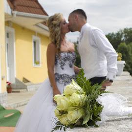 Kriszti by Ingrid Vasas - Wedding Bride & Groom ( kriszti )