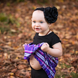 Quinns Belly by Michael  Thomas Ireland - Babies & Children Children Candids ( michaelthomasireland, toddler, hairband, belly, quinn )