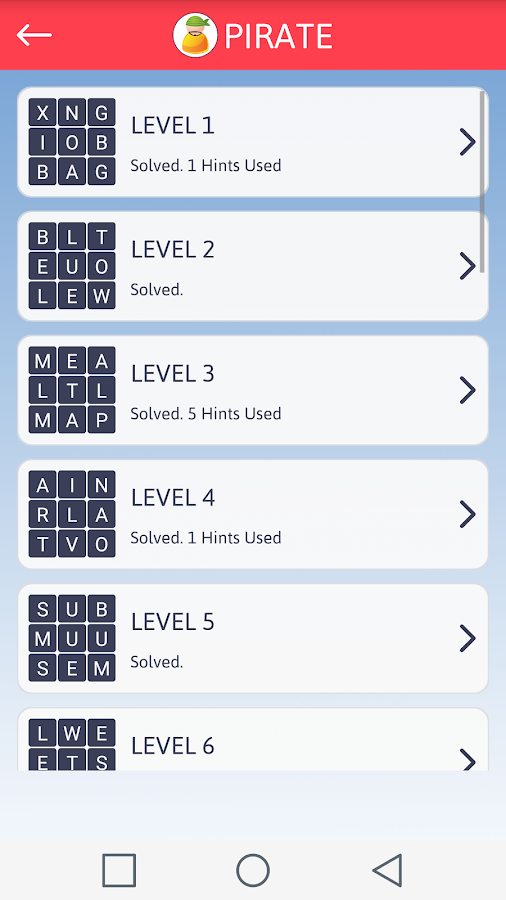 Word Puzzle Screenshot 4